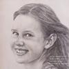 Panelės Kornelijos pieštuko portretas